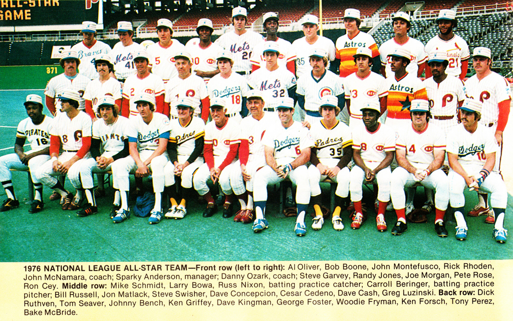 Phillies at the All Star Break -- <br>A Look Back to 1976