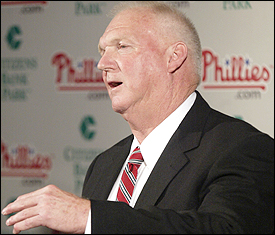 Charlie Manuel Quote of the Day -- On Pitching Staff: What I've Got, I've Got I Got I got.