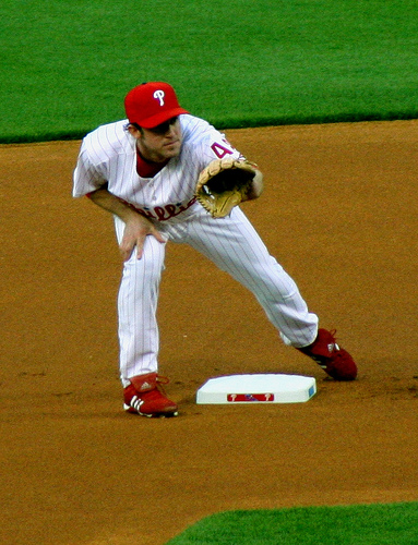 At the Game: 9 thoughts from the Ball Park -- <br>Chase Utley, YOU ARE THE MAN!